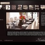 Дизайн сайта дизайнеру интерьеров, портфолио