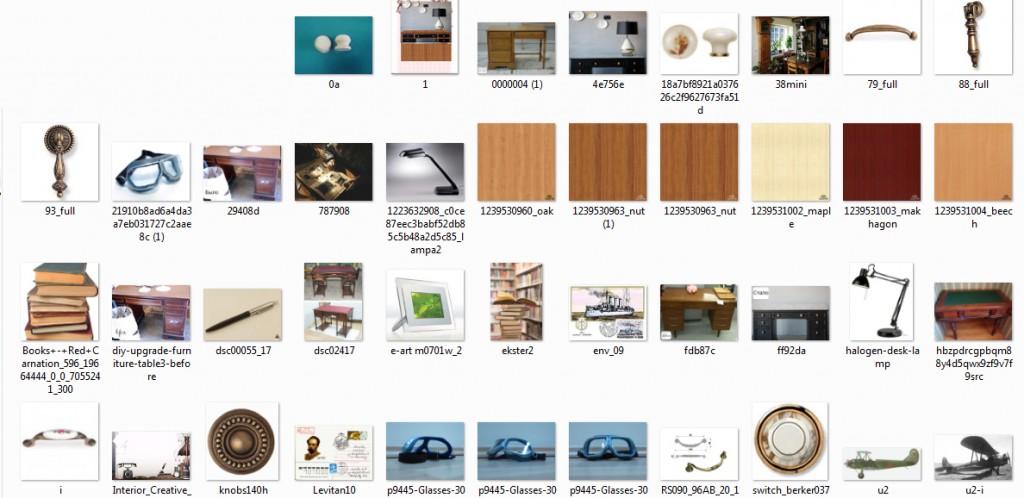 изображения применяемые для создания дизайна сайта коллаж