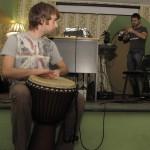 Юра Воляветров, барабан