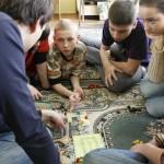 Играем в каркасон с детьми из детского дома