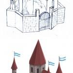 добрый замок для игры художник