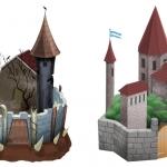 Замки для игры