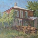 Старый дом. Этюд